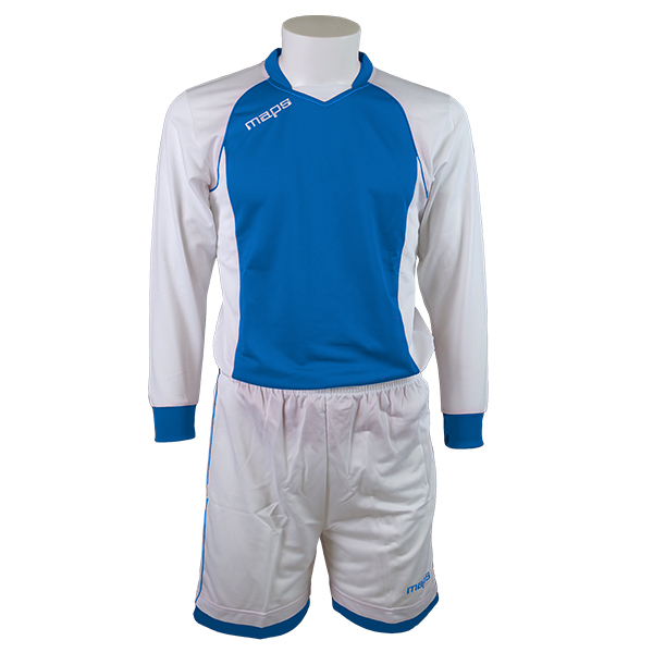 A OUTLET KIT AJAX MANICA LUNGA BIANCO ROYAL